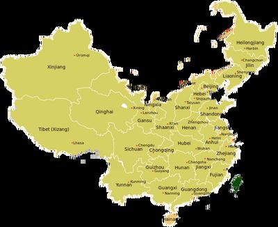 China regions