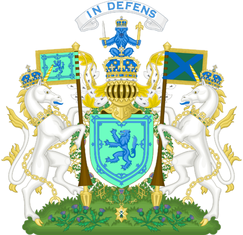 File:Royal Coat of Arms of Scotland by eric4e.png