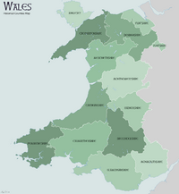 Wales Historical Counties