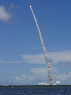 Coyolxauhqui shuttle launch