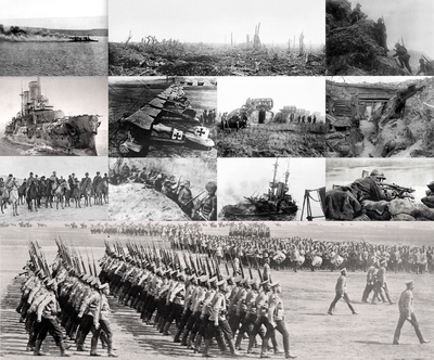 PMIII WWI collage