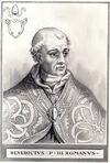 Pope Benedict III Illustration
