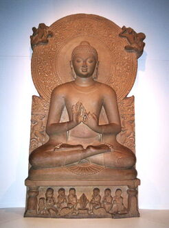 BUddha from teh 4th century