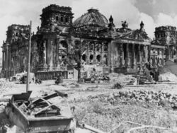 Federation Hall ruins