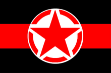 Red Rider FC Flag