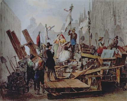 File:BarricadesintheStephansplatz.jpg