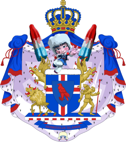 File:Greater Coat of Arms of the Empire of Iceland by eric4e - Sugar Rush CoA.png