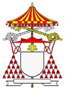 Cardinal camerlingo ombrellino