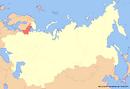 Location of Karelia (New Union)