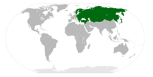 Location of Russian Democratic Federation