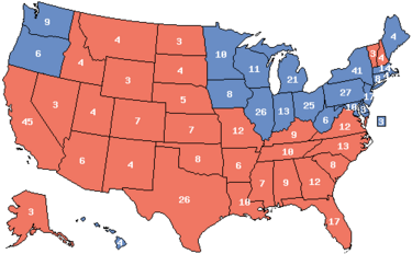 1980 Electoral Map (Ford Momentum)