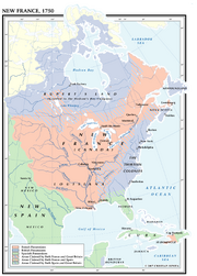 New France 1750