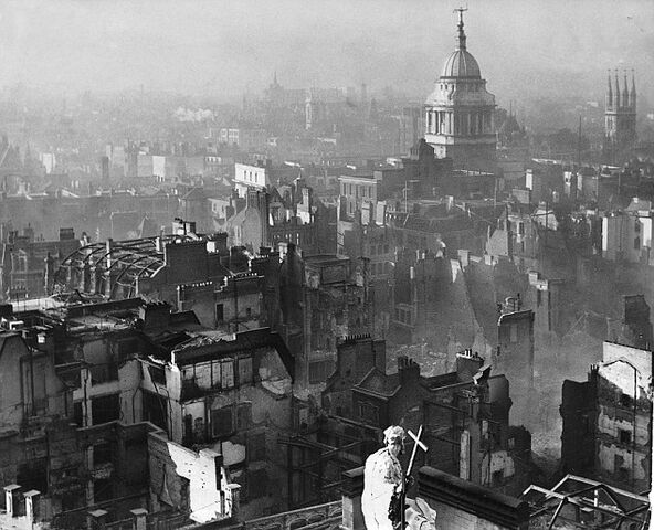 File:St Paul after the Blitz.jpg