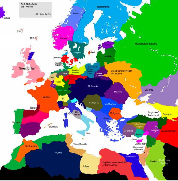 EuropeanMap1711