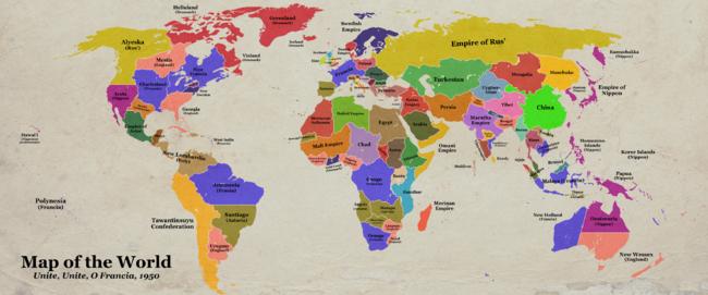 Unite O Francia (Map Contest)