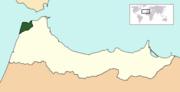 Tangier location (TNE)