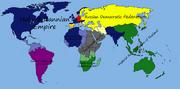 Britannica's World map