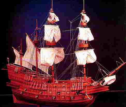 File:Welsh Galleon LPM Y Ddraig Aur 1530's.jpg