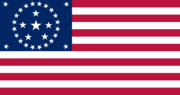 Flag of the US 30 stars