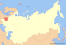 Location of Belarus (New Union)