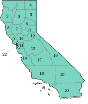 California divisions NotLAH with numbers