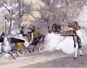 Edward Oxford shoots at H M the Queen, 1840