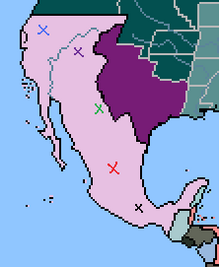 Mexican Army Position, 1851 (1848 Game)
