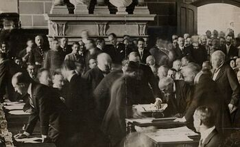 Signing of the Atomic Treaty