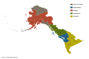 Ancestral groups of Alaska (Russian America)