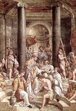 Baptism of Emperor Constantine
