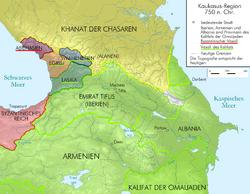 Kaukasus 750 map alt de