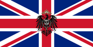 Flag of the United Kingdom of Britain, Ireland and Germany