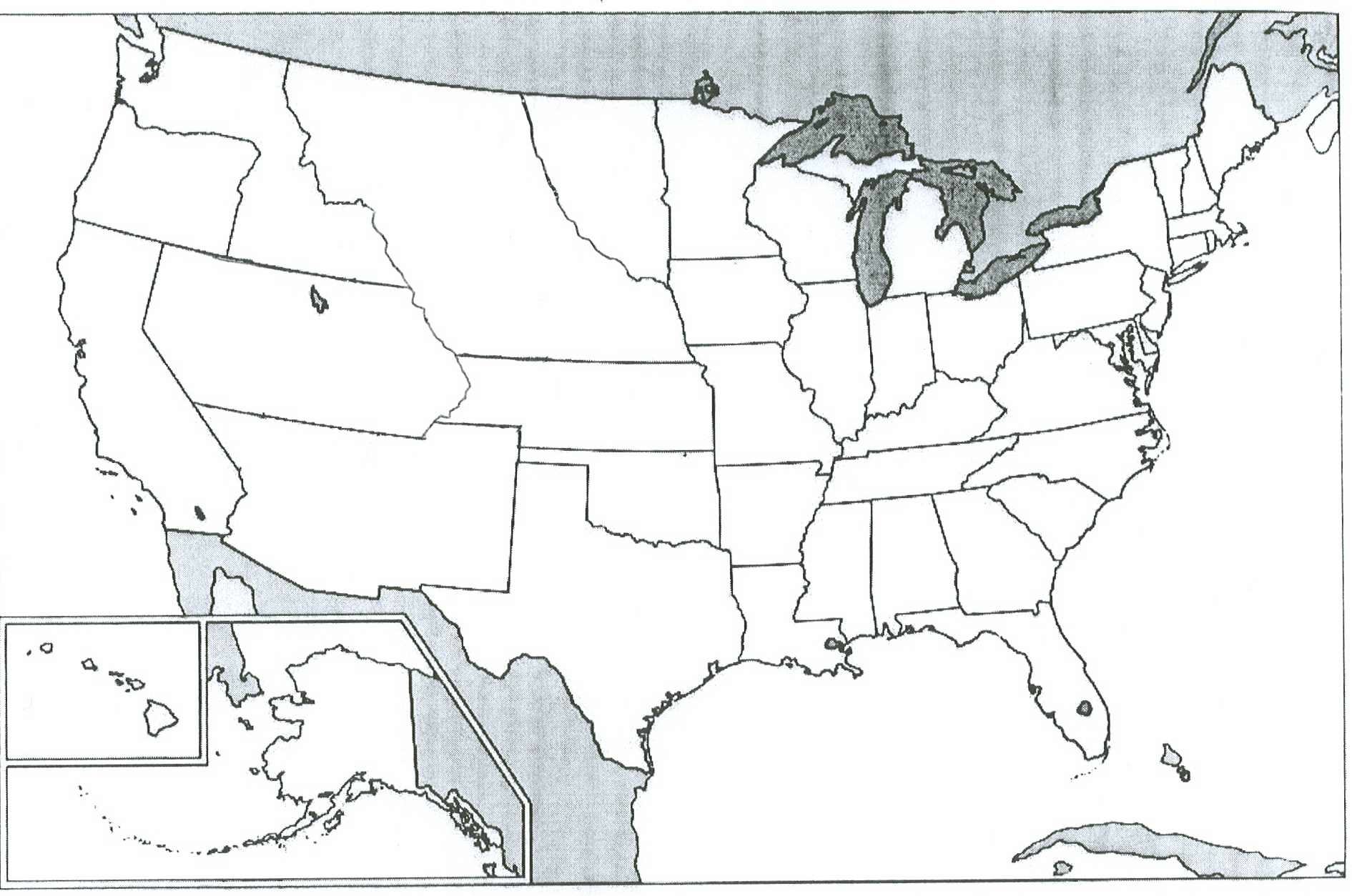 United States Map With State Names USA States On The Map USA - Us railroad map 1860
