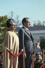 Nixon Gandhi 1970