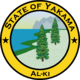 Seal of Yakama (1861 HF)