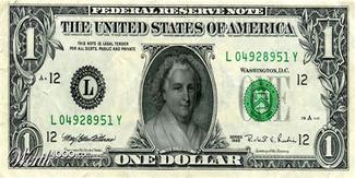One dollar (women rule the world)