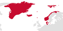 Map of Denmark (13 Fallen Stars)