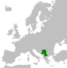 Localization Map Serbia 1920 (TNE)
