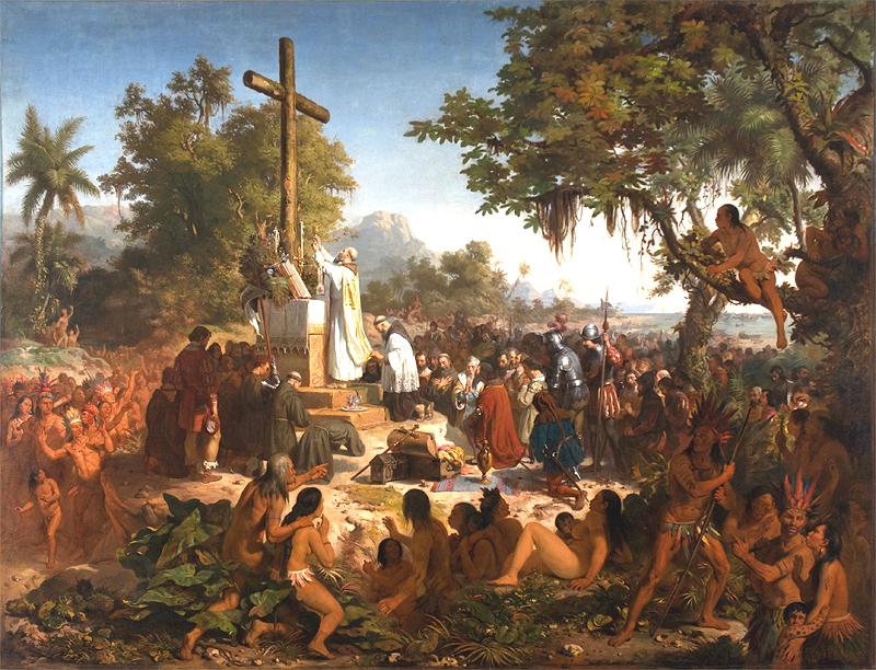 """La """"línea en la arena"""": indios buenos y malos en la lógica del Estado brasileño. Orígenes coloniales - Brasil desde fuera nº1 2"""