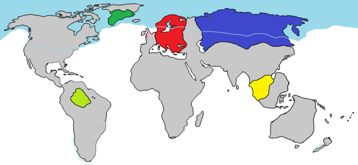 Blank world map2