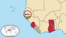 Map of British West Africa (TNE)