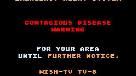 Emergency Alert System Contagious Disease (Zombies)