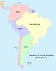 Map of South America (No Napoleon)