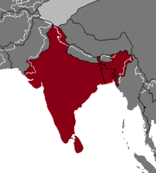 Location of India (Nuclear Apocalypse)