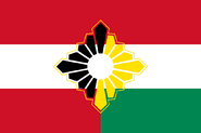 Austria-Hungary flag (SM 3rd Power)