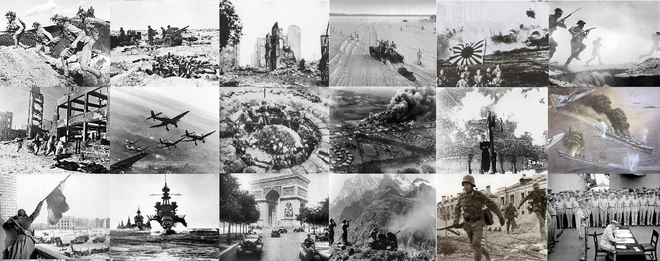 World War V Collage (A World of Difference)