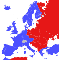 Cold War map (Awgustоwsky putsh)