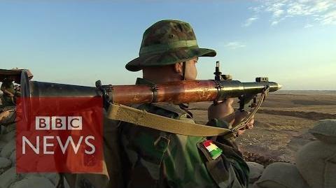 Kurdish weapons 'no match' for Islamic State - BBC News