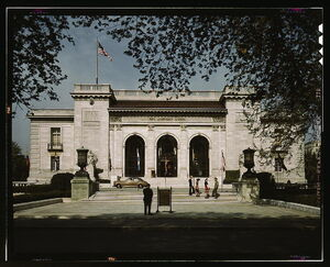 Pan American Union Bldg LOC Photograph