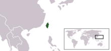 Location Republic of Taiwan